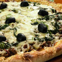 Pizza de Escarola com Mussarela - Grande