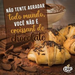 Croissant Folhado de Chocolate