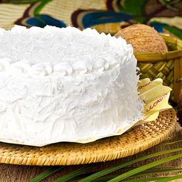 Torta Gelada de Coco - Fatia