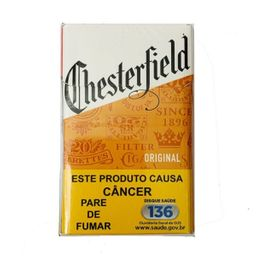 Cigarro Chesterfield Original Box Laran