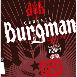Growler Pet 1L Burgman  Red Ale
