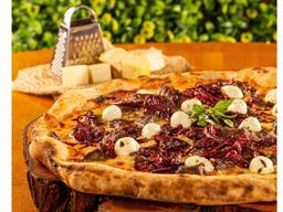 Pizza de Carne de Sol - Grande
