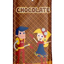 Picole Chocolate Kids 24 Un