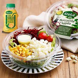Combo Salada de Mussarela e Suco