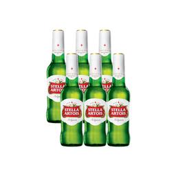 06 Unidades de Stella Artois Long Neck 330ml