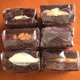 Brownie Recheado de Crocante