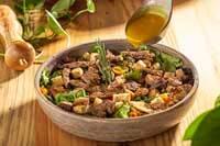 Caesar Salad Filé Mignon em Tiras