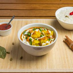 Pratos Vegetarianos - Aloo Gobhi