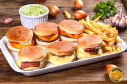 Mini hamburguer filé mignon