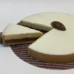 1/4 de torta de brig. Ninho com nutella