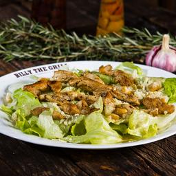 Salada Caesar com Isca de Frango
