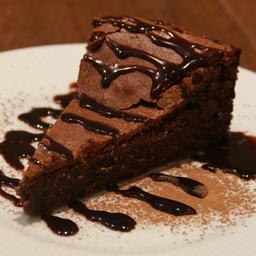 Torta Fudge 0% Açúcar - Fatia