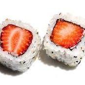 Uramaki morango (6unidades)