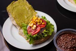 Hambúrguer de Soja Vegatariano/ Vegano