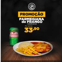 Filé de Frango à Parmegiana + Guaraná Lt