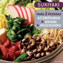 Sukiyaki  - 2 Pessoas