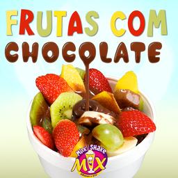 Frutas com Chocolate