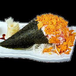 Temaki Salmão e Doritos