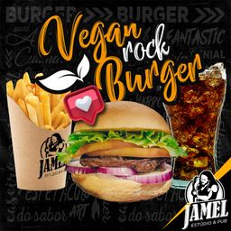 Combo Vegan Rock Burger e Bebida