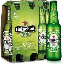 Heineken Cerveja Gelada 330ml - 6 Unidades