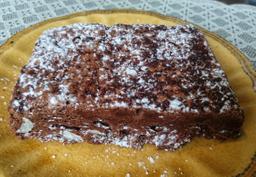 Brownie de Chocolate com Amêndoas