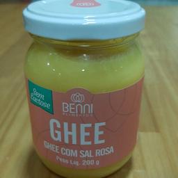 Manteiga Ghee com Sal Rosa 200g