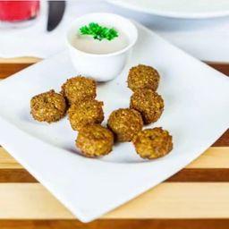 Bolinhos de falafel