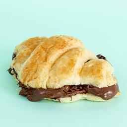 Croissant com Nutella