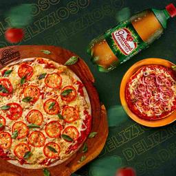 Combo Pizza G com individual e Refrigerante 1l