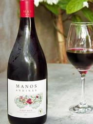 Vinho Tinto Manos Andinas Pinot Noir