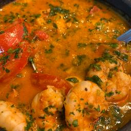 Curry Indiano de Camarão para 2