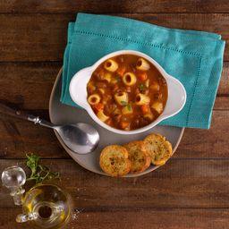 Sopa de Macarrão S/ Glúten C/ Carne e Legumes (1 Litro)