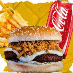 Combo Família Burger, Batata e Refri