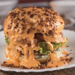 Stranger Cheddar Burger