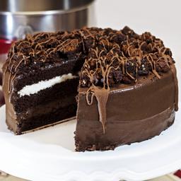 Bolo Black Cake (Fatia)