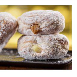 Donuts de Banana com Canela