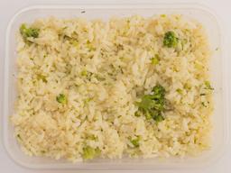 Arroz Branco com Brócolis Porção