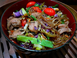 Chow Mein Porco