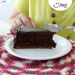 Torta de Chocolate - Fatia