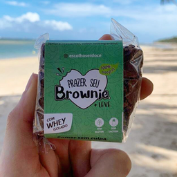 brownie fit - chocolate