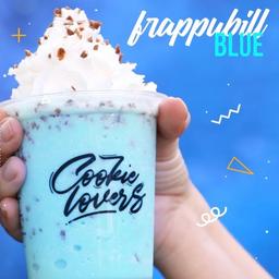 Frappubill grande blue de aniversário