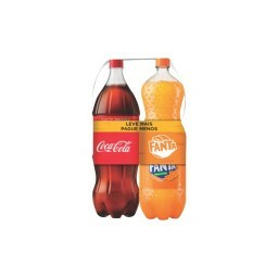 Kit Coca-Cola sem Açúcar e Fanta 2L