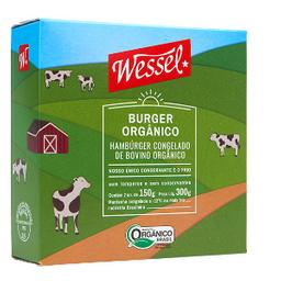 Burguer Orgânico Bovino Wessel - 303330