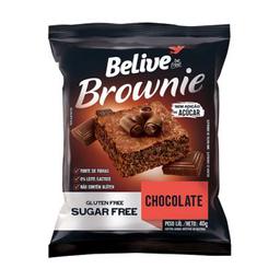 Brownie Belive Chocolate Sem Açúcar E Sem Glúten - 40g