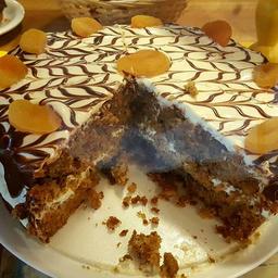 Carrot Cake - Fatia