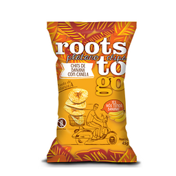 Roots to go Banana Doce 45g