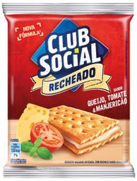 Club Social Recheado Queijo, Tomate e Manjericão
