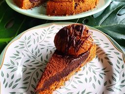 Torta Cookies com Brigadeiro Vegana - 120g