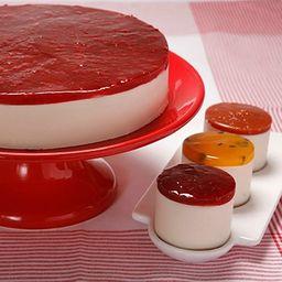 Cheesecake de Frutas Vermelhas - Confeit