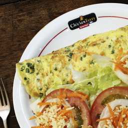 Omelete Especial com Salada